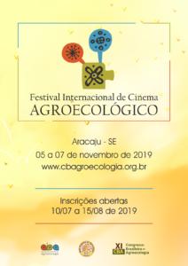 Abertas as inscrições para o Festival Internacional de Cinema Agroecológico