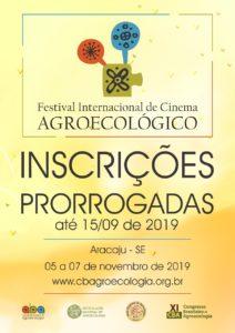 Inscrições prorrogadas para Festival Internacional de Cinema Agroecológico, que integra programação do XI CBA
