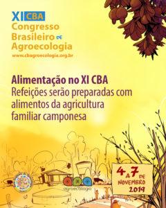90% da alimentação fornecida no XI CBA virá da agricultura familiar camponesa