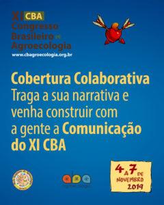 Venha construir com a gente a Cobertura Colaborativa do XI CBA