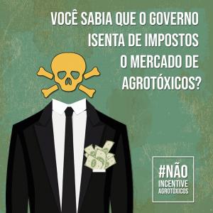 Inconstitucionalidade da isenção de impostos para setor de agrotóxicos será julgado pelo STF