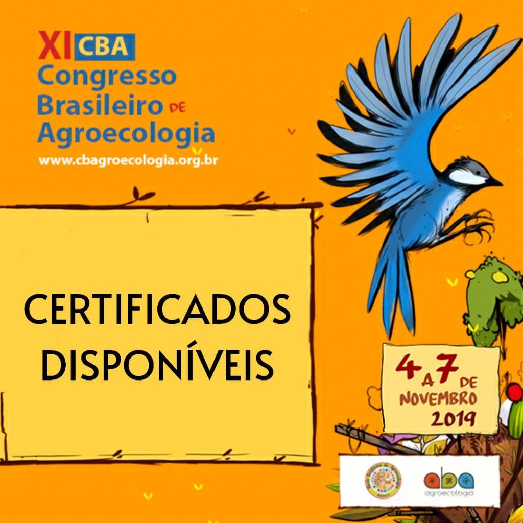 Certificados| XI CBA