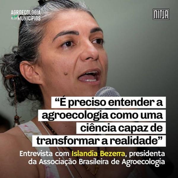 """""""É preciso entender a agroecologia como uma ciência capaz de transformar a realidade"""", destaca presidenta da ABA"""